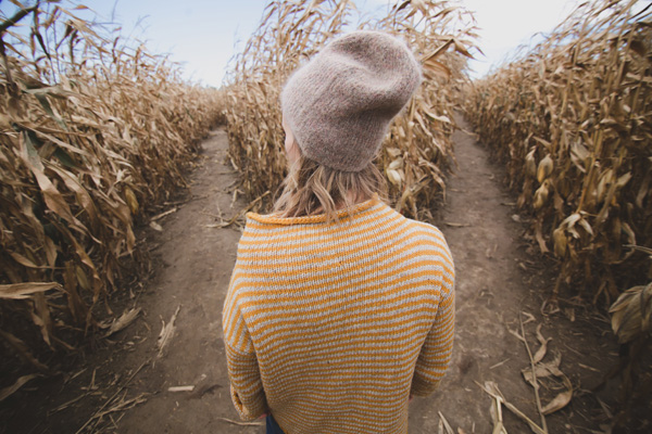 woman, cornfield, choice, paths, choosing, direction