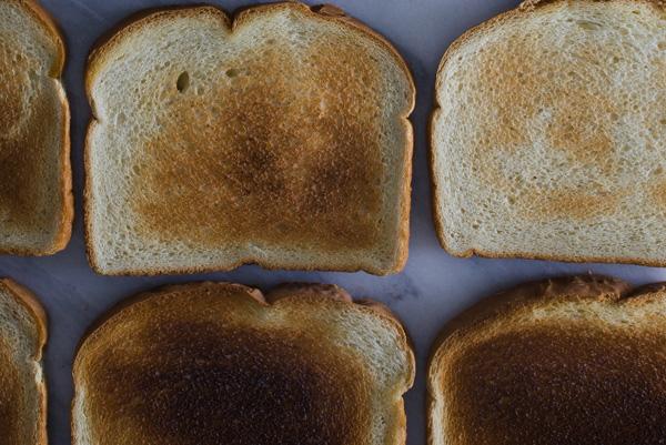 toast, bread,